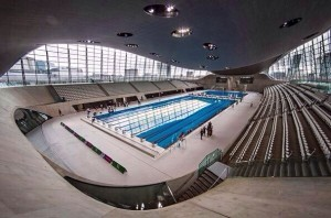 London Aquatic Centre as it is now, open ot the public(photo twitter/@GLL)