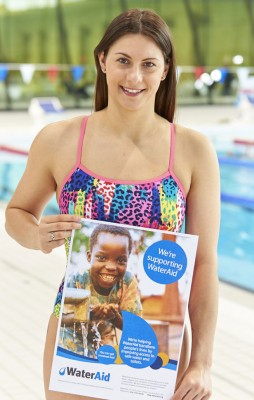 Aimee Willmott is supporting Water Aid