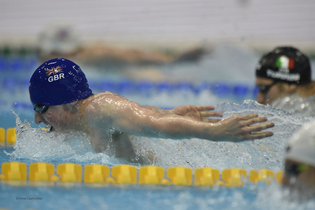 Max Litchfield: sights set on the 400IM final in Rio. Pic: Simone Castrovillari