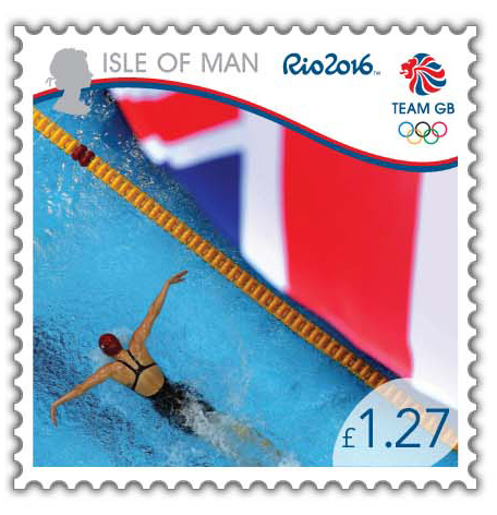 Jemma Lowe features on an Olympic Stamp