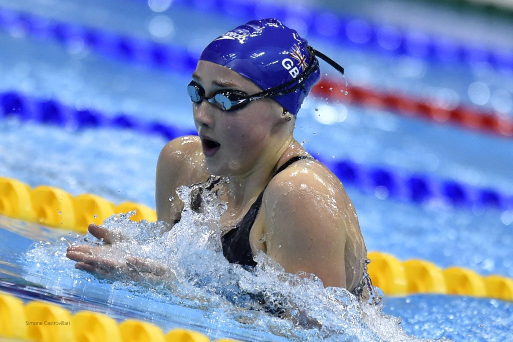 Chloe Tutton impressed in Barcelona