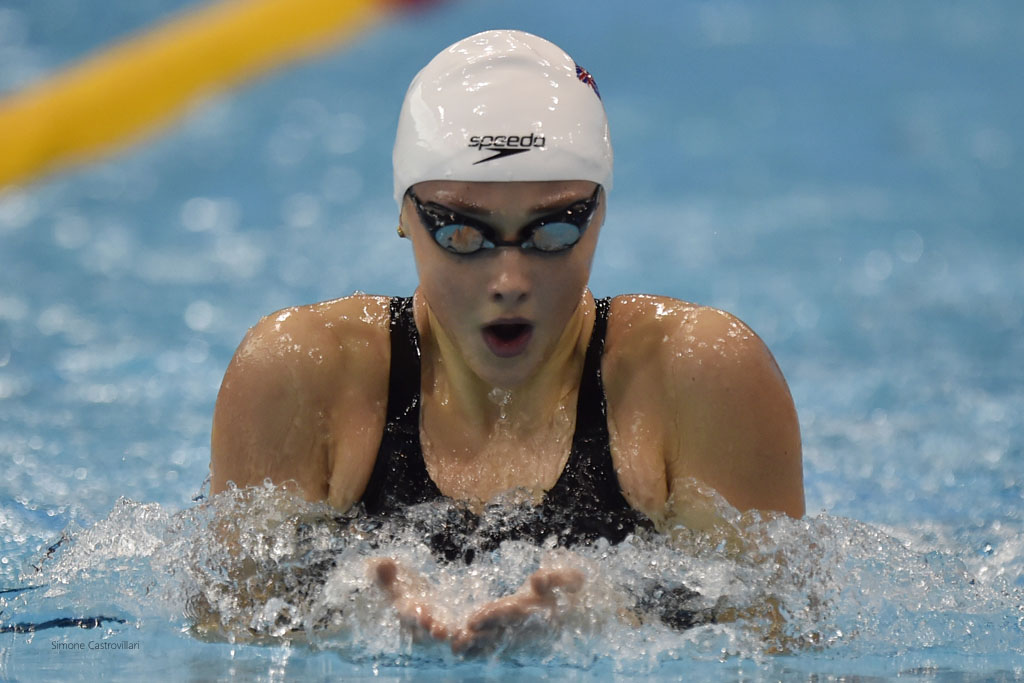 Chloe Tutton has vaulted herself into world class over 200m breaststroke